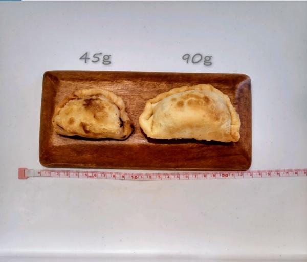 田芋完成重量比較