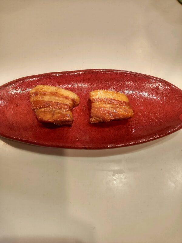 下ゆで20分直後のラフテー炊飯器VS鍋19